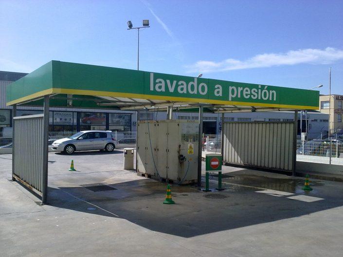 Instalaciones de lavado de vehiculos